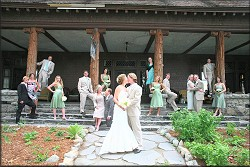 Kissing the Bride at Ehrman Mansion