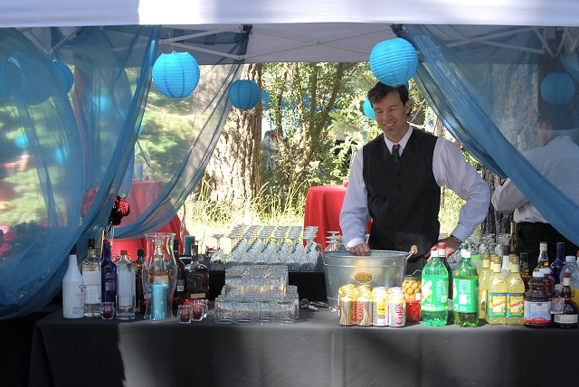Bar Tent & Team Magic Photo Gallery from Mountain Magic Catering