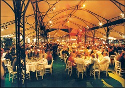 Catered Tent Setting