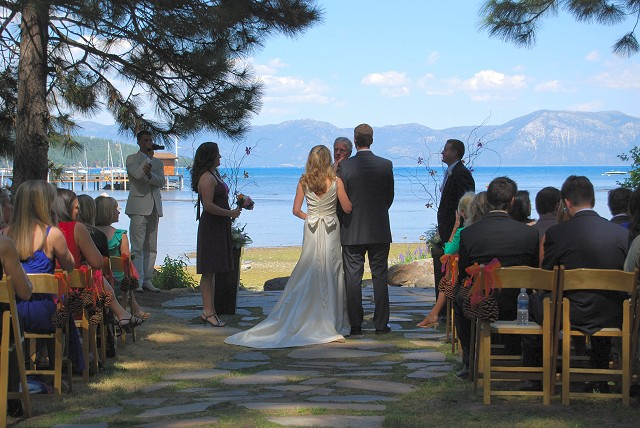 The 3acre grounds offer secluded lakeside weddings at a unique price point
