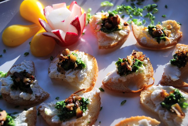 Hors D Oeuvres Photo Gallery From Mountain Magic Catering