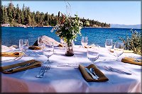 Lakefront Wedding Table