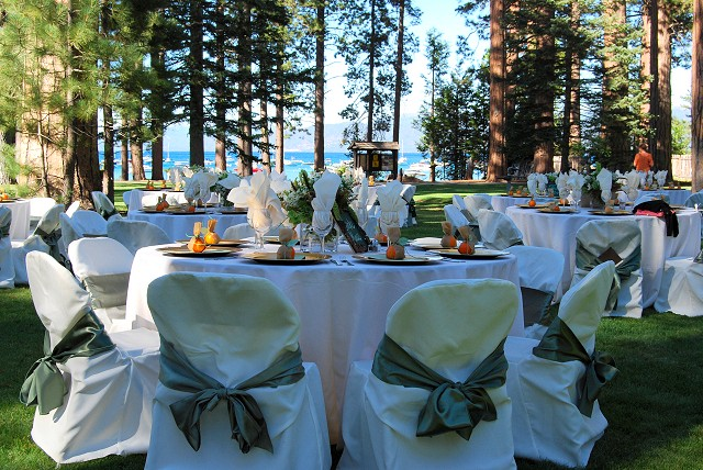 Table Settings Photo Gallery From Mountain Magic Catering - Catering table setting