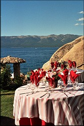 Tahoe Wedding Table