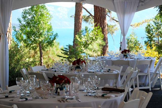 Lake Tahoe Wedding Reception Locations and Event Venues