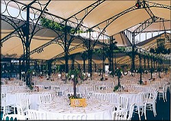 Tent Setup Awaiting Guests