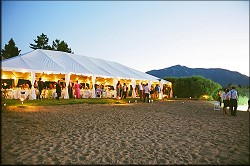 Tahoe Tented Reception